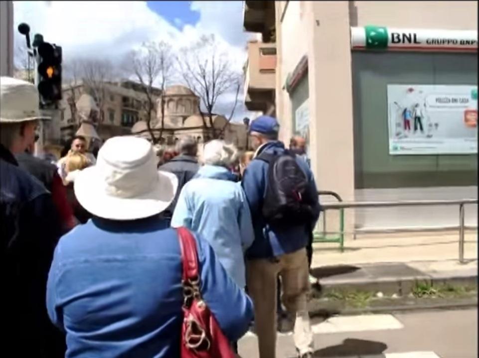 Turisti a Messina