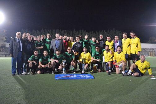"""Calcio a 11-Campionato Aics. """"I Trofeo dello Stretto"""": i giornalisti si arrendono nel finale"""
