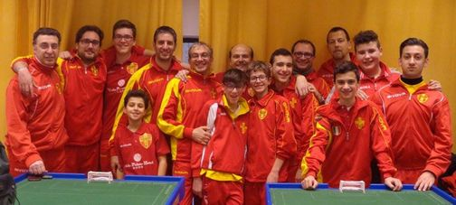 Messina Table Soccer 2015