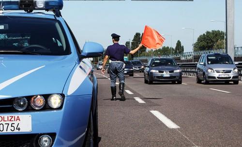 Polizia Stradale - Incidente Messina - braccio tranciato