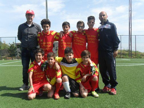 San Filippo del Mela Under 12 calcio a 7 2° cl.