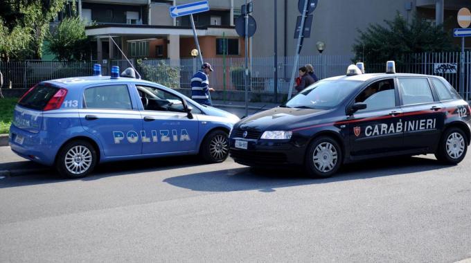 carabinieri e polizia per nuovo