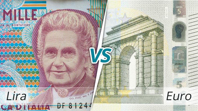 lira contro euro