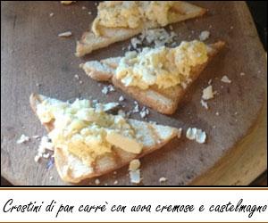 Ricetta – Crostini castelmagno