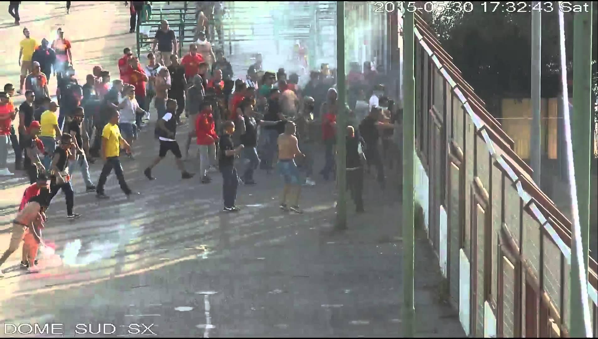 Guerriglia post Messina – Reggina. I nomi dei 9 arrestati e le immagini degli scontri