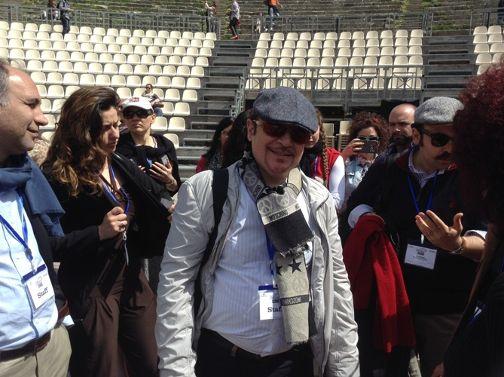 stinchelli al teatro antico di Taormina