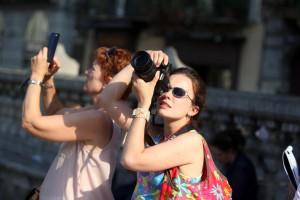 Palermo 2992014 ( FOTO PETYX PALERMO) Turisti
