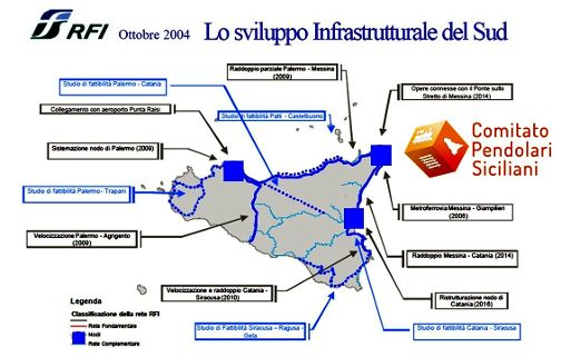 Infrastrutture in Sicilia