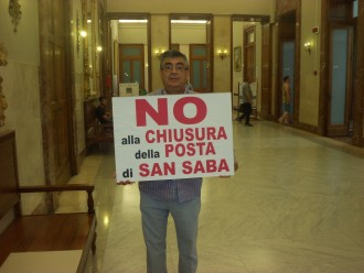 No chiusura posta di San Saba Comune di Messina 003