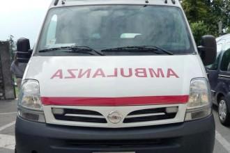 Foto di una ambulanza