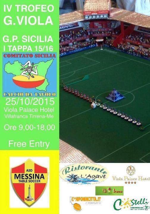 Locandina Open Regionale Messina