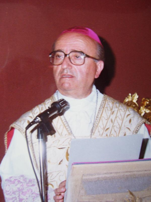 Mons. Ignazio Cannavò vescovo ausilaire 1970-1976