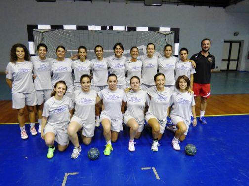 Squadra Femminile handball messina