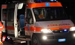 ambulanza di sera