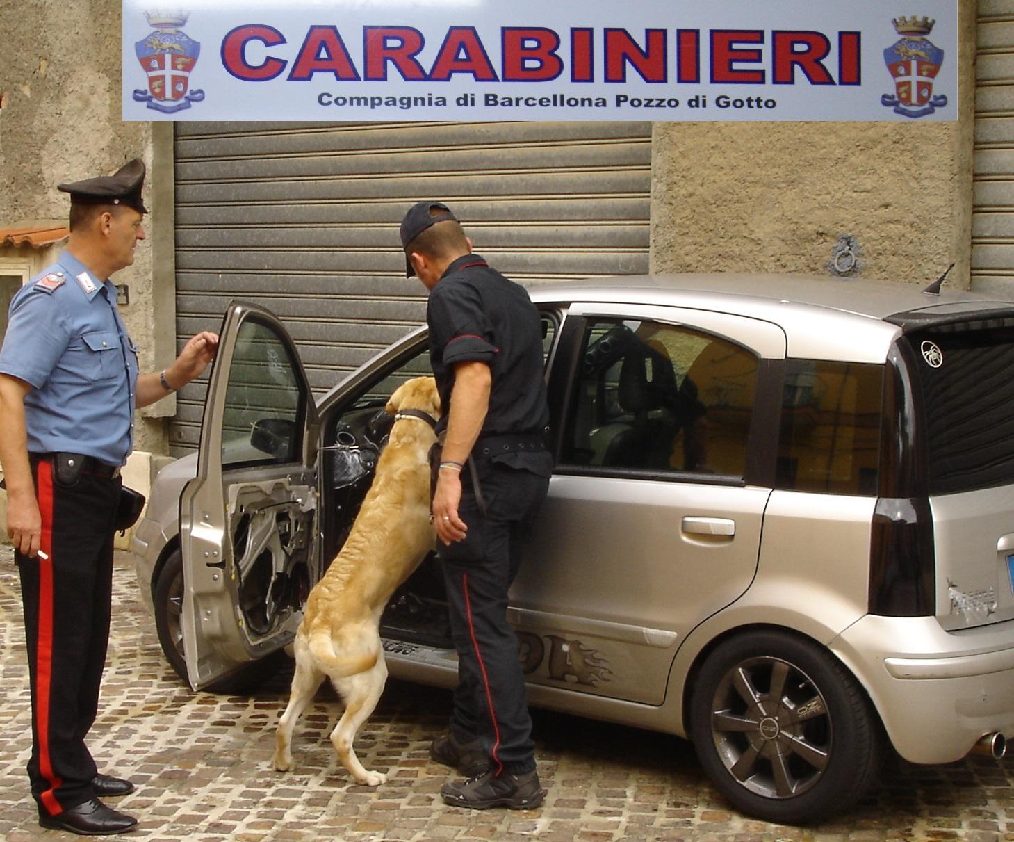 carabinieri a merì