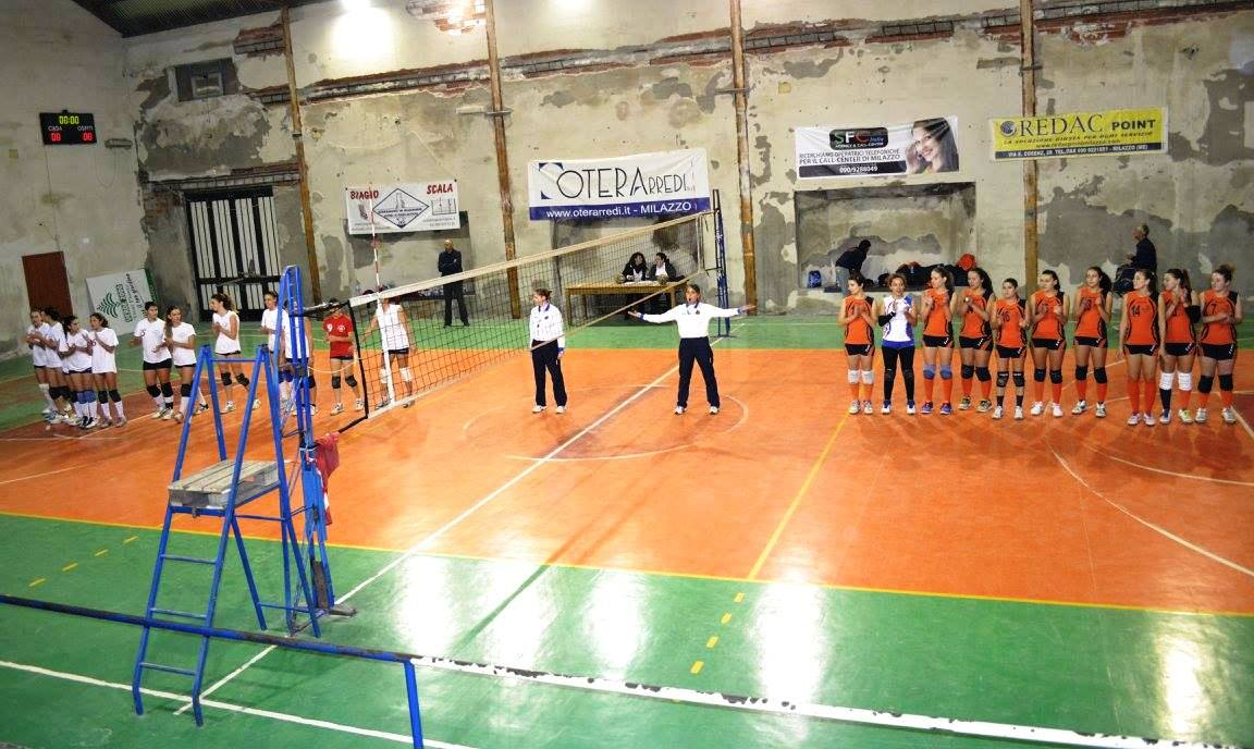 As Volley 96 e Messana Tremonti schierate