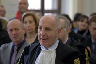 Nino favazzo in udienza (foto dino sturiale)