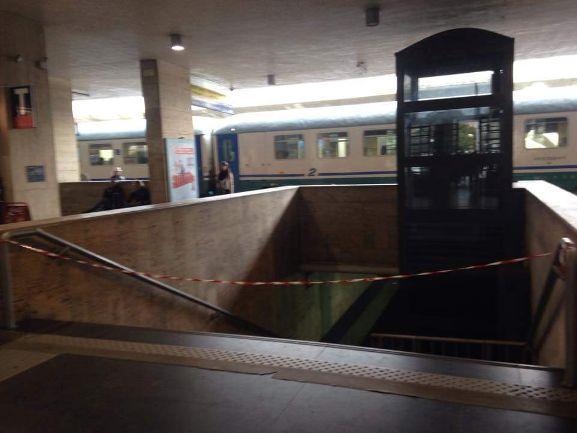 Sottopassaggio Stazione centrale di Messina