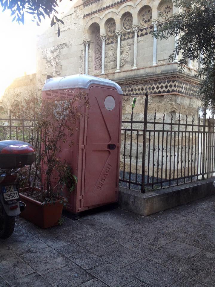 Messina citt dai mille bisogni collocato bagno - Bagno chimico cantiere ...