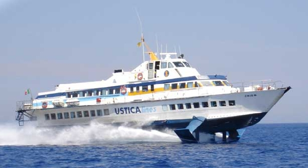 ustica lines aliscafo