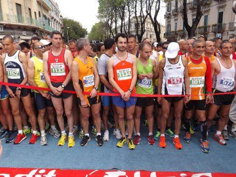 Partenza Messina Marathon