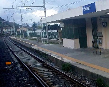 Stazione di Galati - metroferrovia Giampilieri-Messina