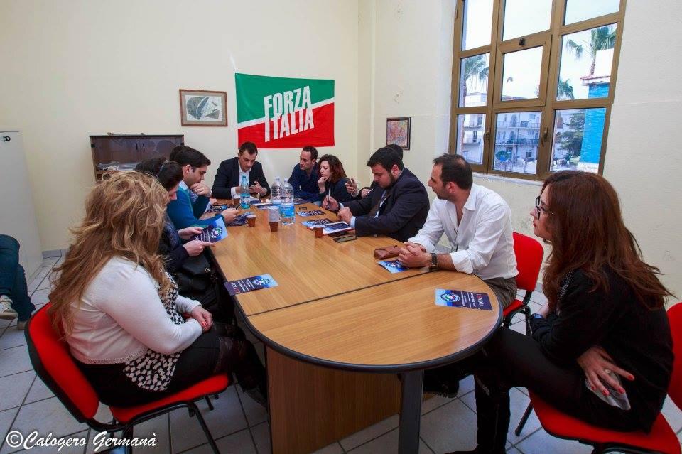 forza italia giovani nominati