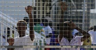 Foto di migranti