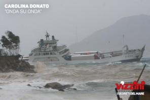 """Premio fotografico Vizzini: vince Carolina Donato con una """"sciroccata"""" nello Stretto"""