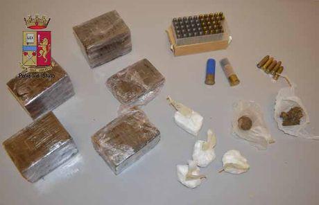 Droga e munizioni 21 giugno 2016