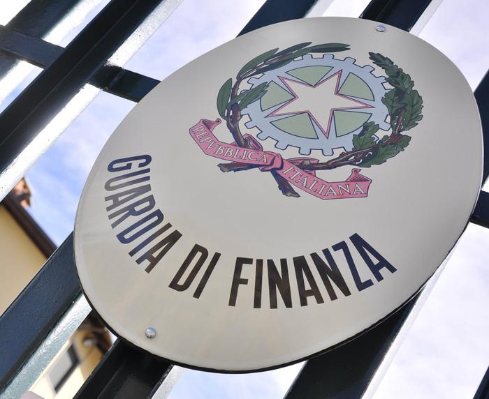 Foto del logo della Guardia di Finanza