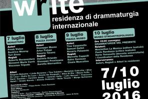 L'Università presenta il progetto W-rite, scritture in residenza