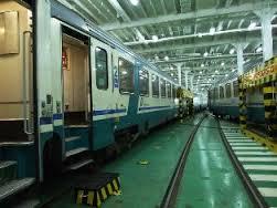 treno su nave