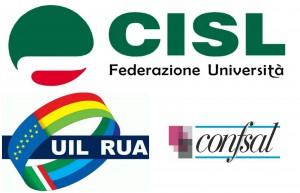 Cisl Università, Uil Rua e Confsal