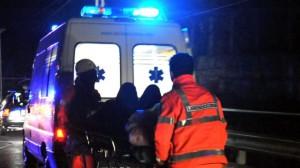ambulanza di sera operatori nuovo