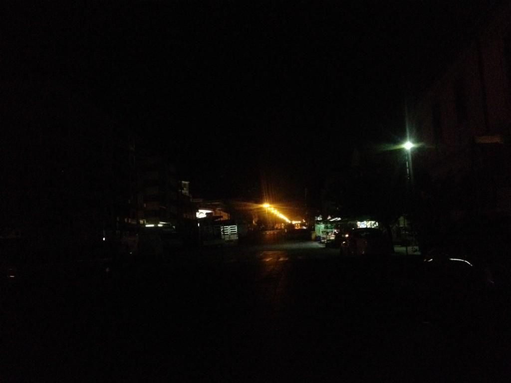 viale europa buio