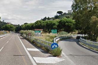Foto dello svincolo autostradale Messina Boccetta
