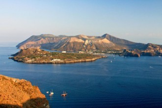 Foto di Lipari vista dall'alto