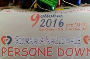 Giornata delle persone Down: giorno 9 iniziativa di sensibilizzazione