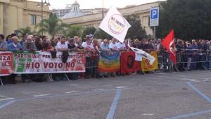 Manifestazione No-Renzi