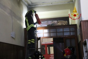 Princio Incendio Via centonze Messina (4)