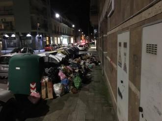 rifiuti centro città