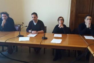In foto: Bonaventura, Fiorino, Minasi e Failla