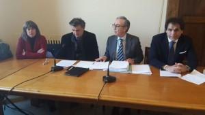 I consiglieri Amata, Trischitta, Santalco e Burrascano