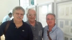 Cesare Giorgianni, Carlo Martines e Orazio Tringali componenti del Consiglio direttivo
