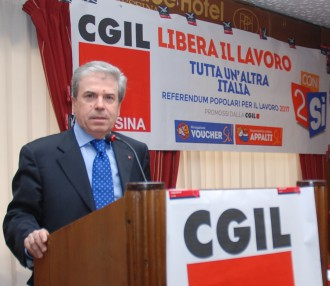 Giovanni Mastroeni, nuovo segretario generale CGIL MESSINA