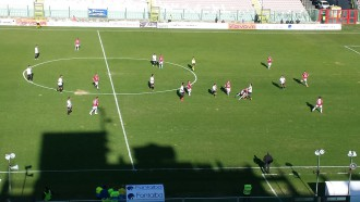 foto del campo di calcio - match dell'acr messina