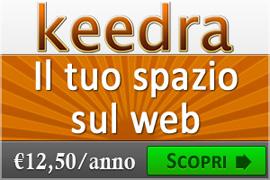 Keedra-com_Il tuo hosting a partire da euro 12,50