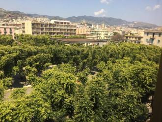 Piazza Cairoli vista dall'alto