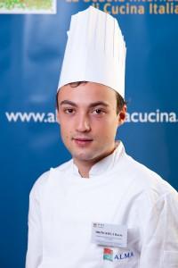Il giovane chef messinese Dario Bringheli